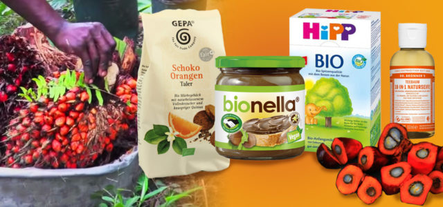 Produkte mit gutem Palmöl