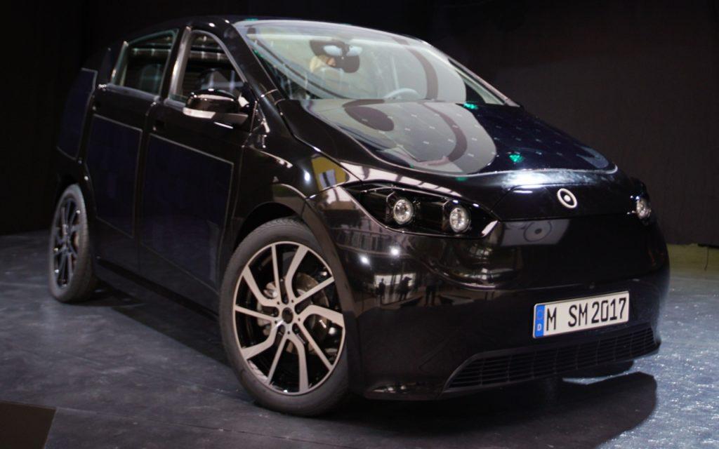 Solarauto Sion –Elektroauto von Sono Motors