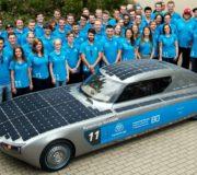 Solarcar blue.cruiser Elektroauto Solarauto