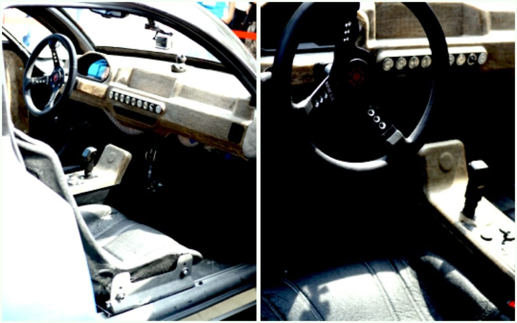 Das Innere des blue.cruiser Solarauto