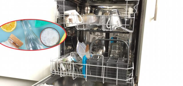 Spülmaschine mit Hausmitteln reinigen