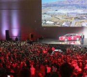 Tesla Model 3 Übergabe Show