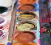 Wassermalfarben