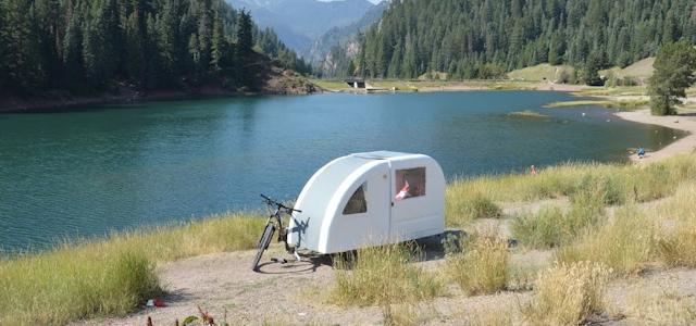 fahrrad wohnwagen mobile minih user kaufen oder nachbauen. Black Bedroom Furniture Sets. Home Design Ideas