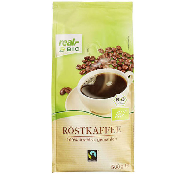 Real Bio Röstkaffee