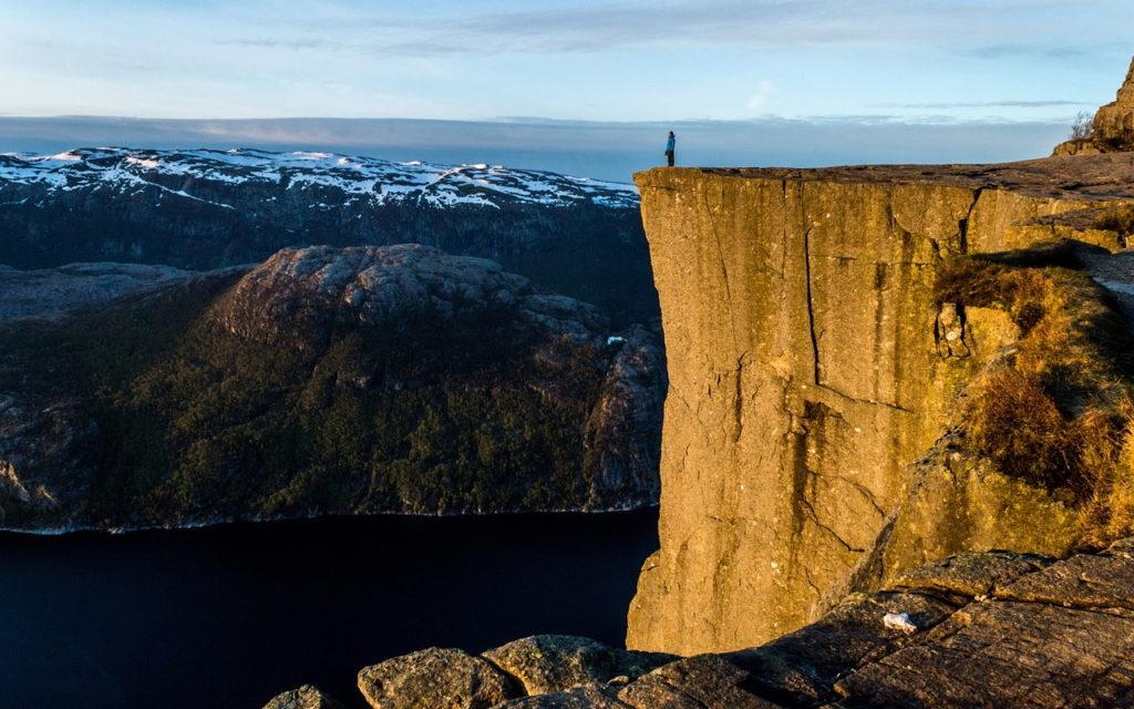 Preikestolen, Norwegen - Fahrradtour: 5 Radtouren & Radrouten Norwegen