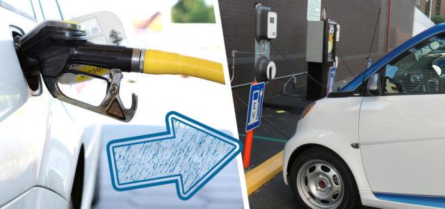 E-Auto statt Benzin