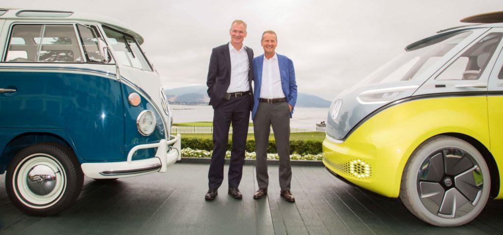 Volkswagen Wir Bauen Den Vw Id Buzz Als Elektro Bulli
