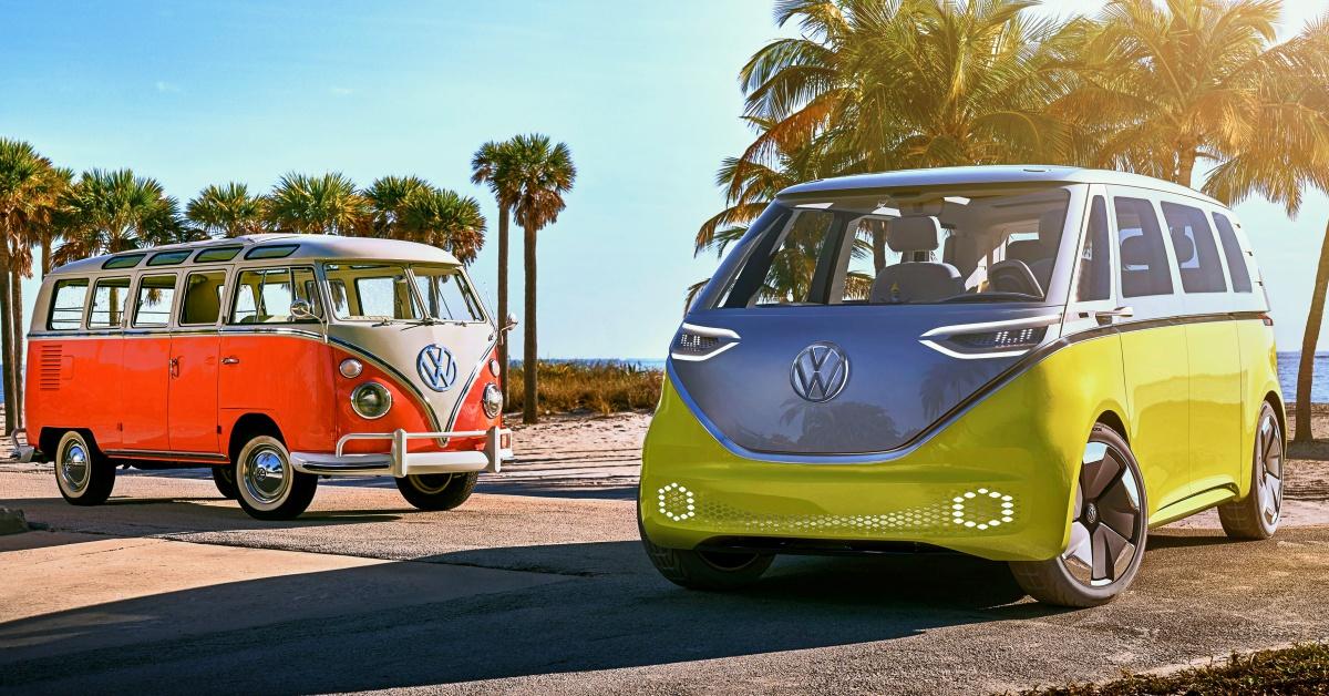 Volkswagen I D Buzz Der Elektro Camper In Bildern