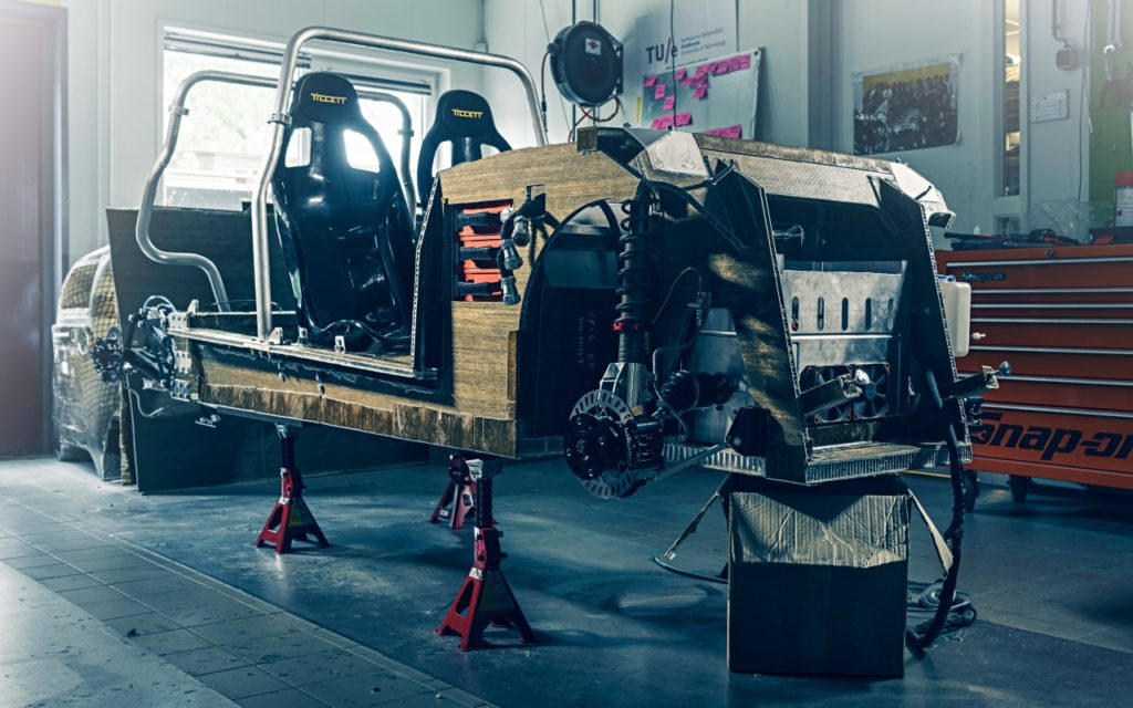Elektroauto Lina: auf der Suche nach neuen Leichtbau-Materialien