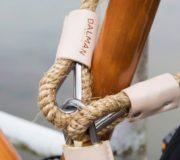 Dalman Hanfschloss – Fahrradschloss Long Jon Lock aus Hanf