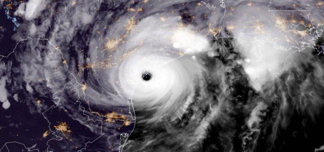 Harvey Hurrikan Satellitenbild