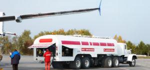 Kersosinpreis Flugzeug tanken