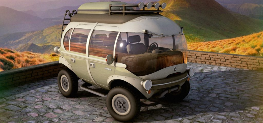 Leider ist das Nimbus-Elektroauto nur eine Konzeptstudie