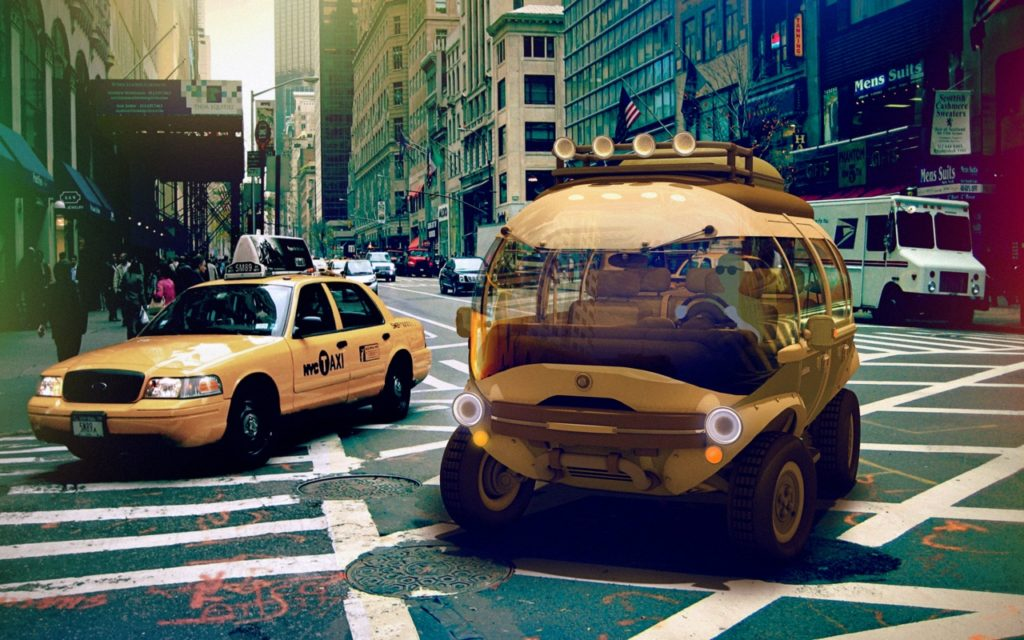 Elektroauto Nimbus: Hybridmotor und Solarzellen