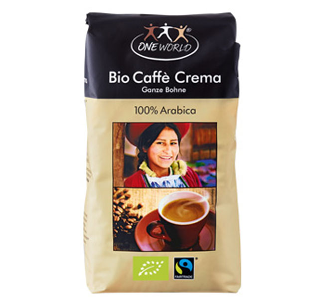 One World Bio Caffé Crema