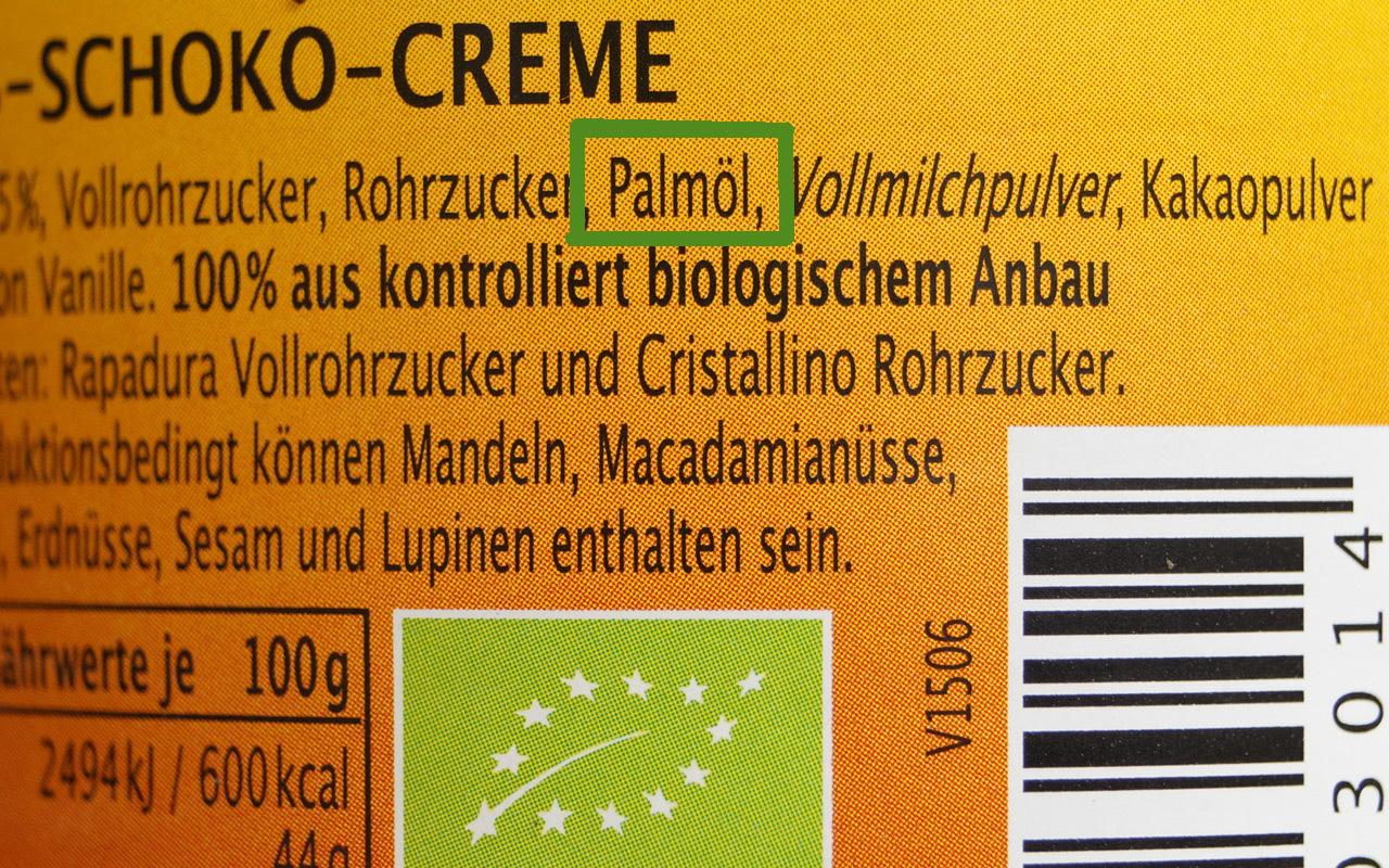 Palmöl trotz Bio-Siegel