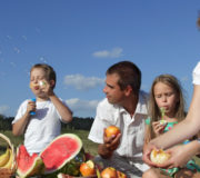 Picknick Familie