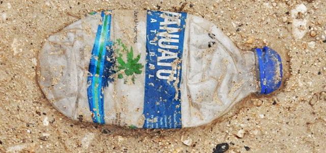 Plastikflaschen Verbot auf der Insel Vanuatu im Südpazifik