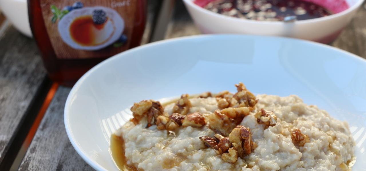 Porridge Frühstücksbrei Frühstück