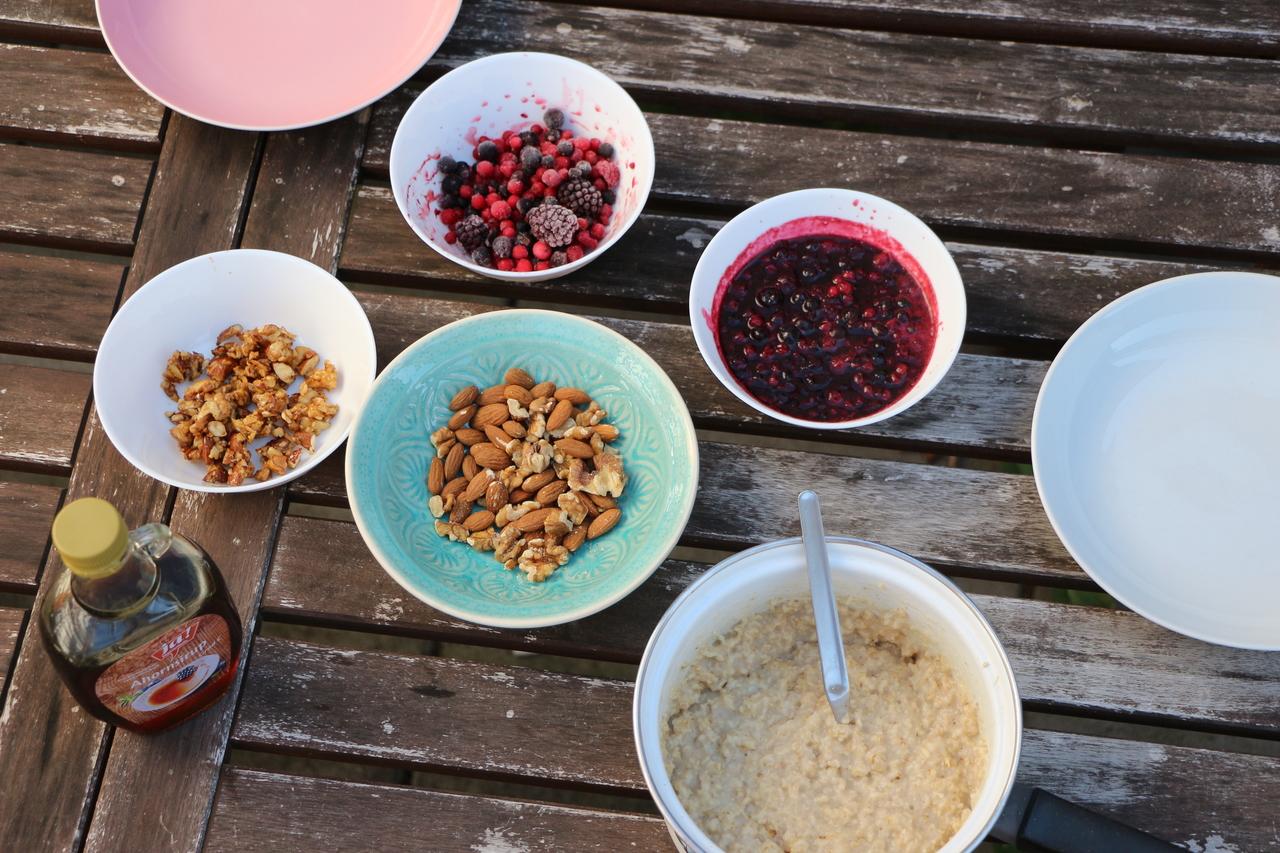 porridge selber machen 3 gesunde varianten f rs fr hst ck. Black Bedroom Furniture Sets. Home Design Ideas