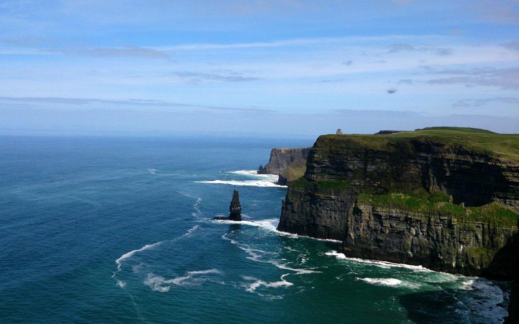 Steilklippen Mohar Galway, Irland - Fahrradtour: 5 Radtouren & Radrouten