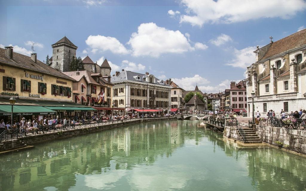 Annecy, Frankreich - Fahrradtour: 5 Radtouren & Radrouten