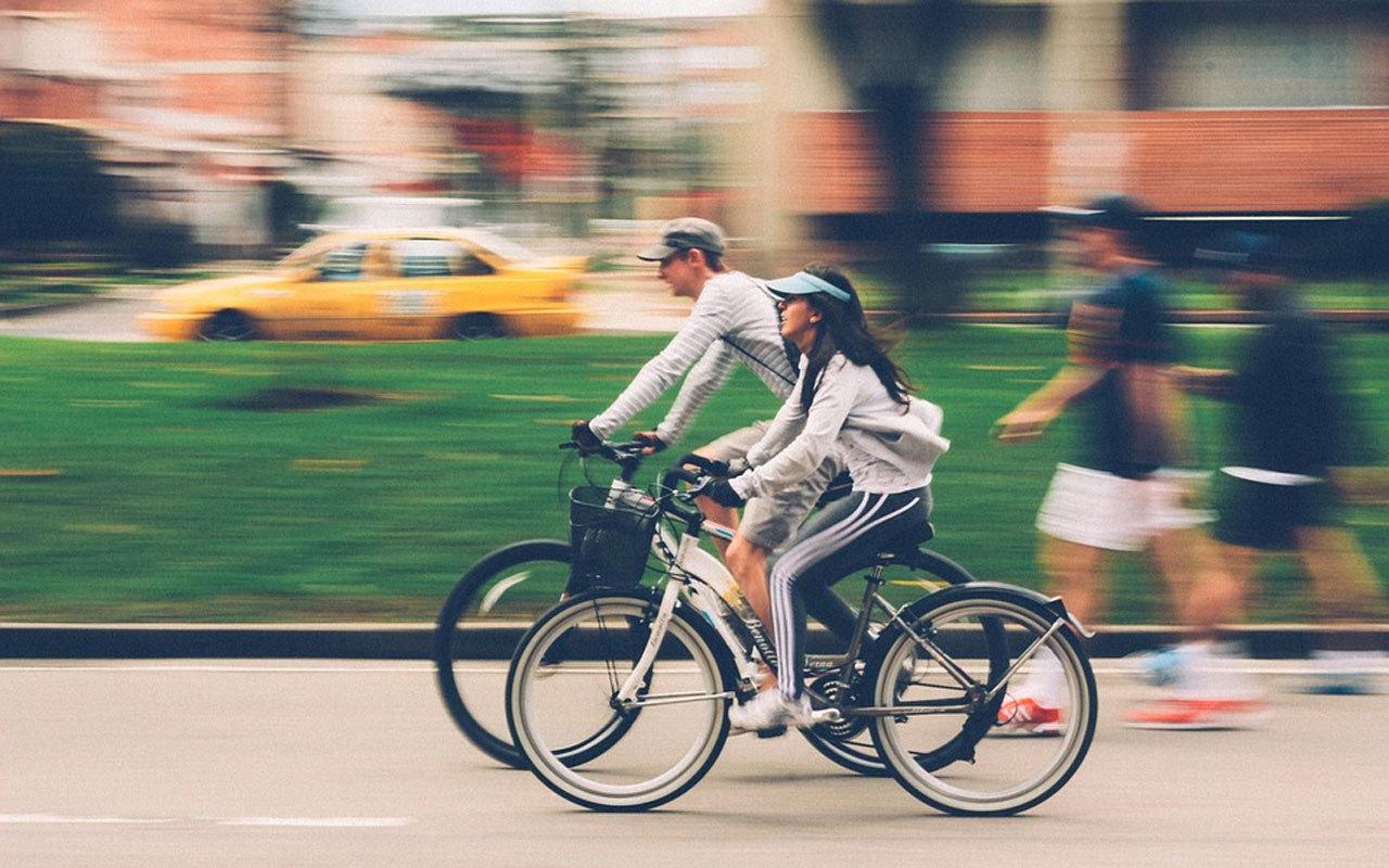 Rückenfreundlich unterwegs mit dem Fahrrad