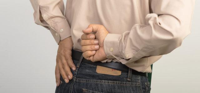 Rückenschmerzen Rücken Mann