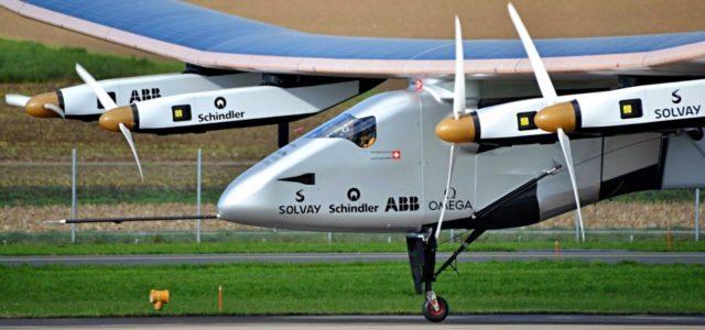 Solarimpulse Flugzeug