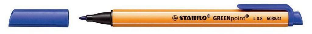 Stabilo Greenpoint: Cradle-to-Cradle-Stift mit Strichstärke 0,8 mm, erhältlich in 6 Farben