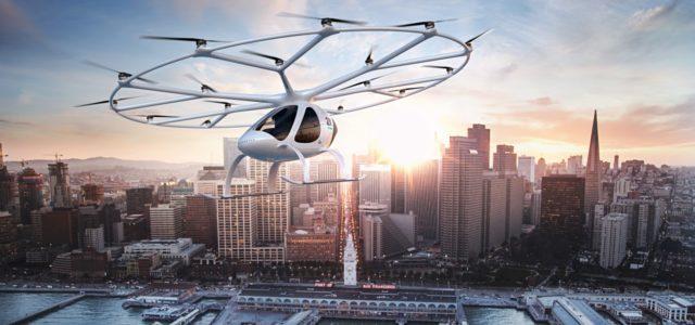Volocopter elektrisches Flugauto
