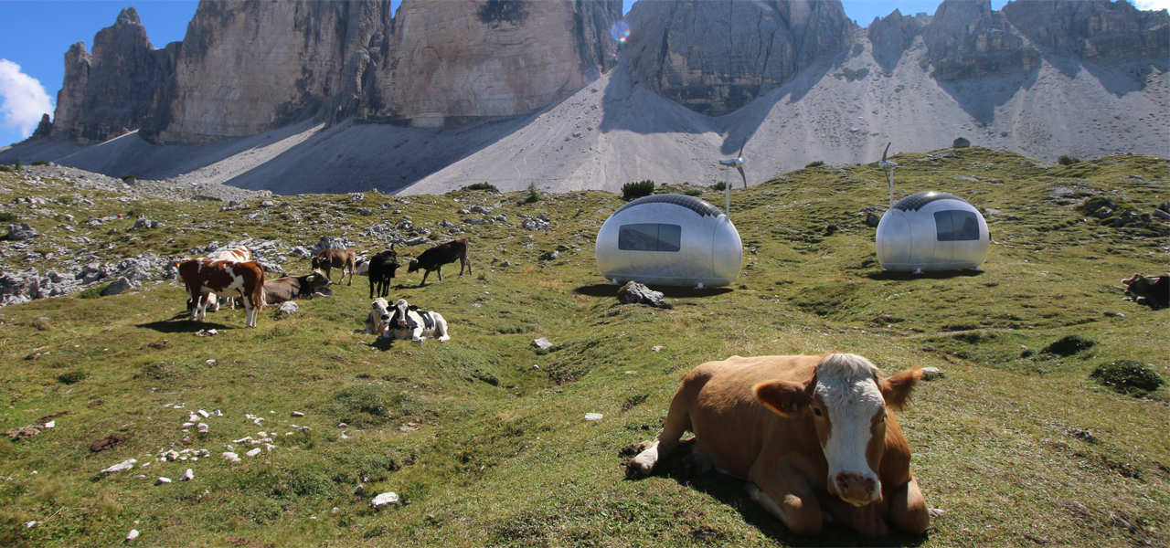 mobiles Tiny House: Ecocapsule