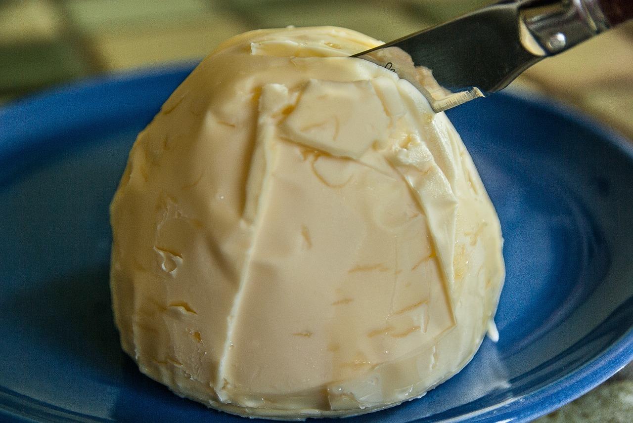 Die einzige Zutat für Ghee: Butter