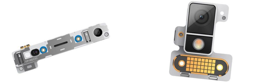 Fairphone 2: neue Selfie-Kamera mit 5 MP (links, 30€), bessere Frontkamera mit 12 MP (rechts, 45€)