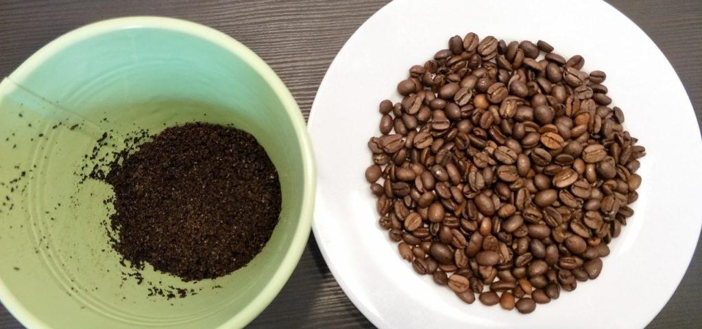 Kaffee, Kaffeesatz,