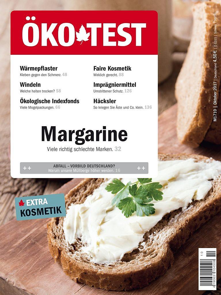 Öko-Test Margarine 10/2017