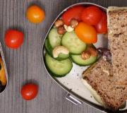 Leckere Pausen-Snacks in der Pausenbrot-Box