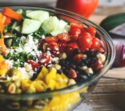 Salat Tipps, mediterraner Bohnensalat, Salad Bowl