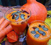 Herbst Kürbis Smoothies