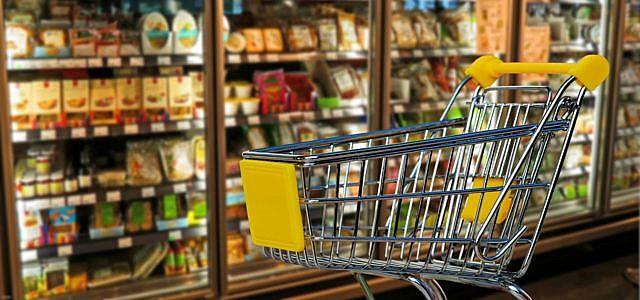 Supermarkt Lebensmittel Mindesthaltbarkeitsdatum AEZ