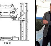 Tesla Patent Akku Austausch