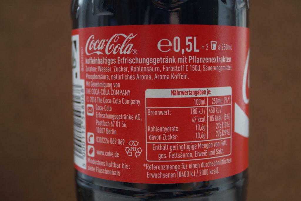 Zusatzstoffe E-Nummern E150D Cola