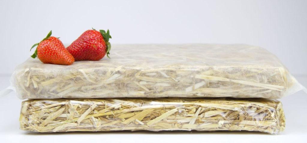 Nachhaltige Isolierverpackungen aus Stroh