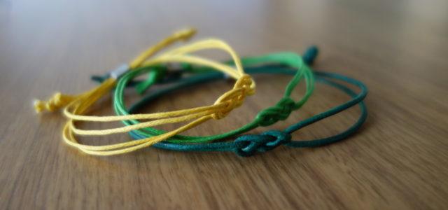 Das Seemannsknoten-Armband ist ein schönes selbstgemachtes Genschenk für eine(n) Jugendliche(n)