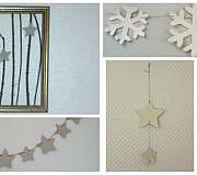 Deko, Winter, Schnee, Sterne