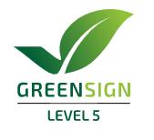 Die höchste Zertifizierungsstufe: GreenSign Level 5.