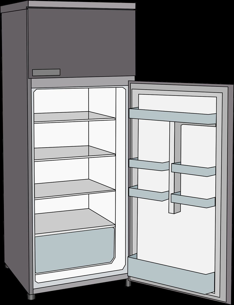 k hlschrank richtig einr umen was geh rt wohin. Black Bedroom Furniture Sets. Home Design Ideas