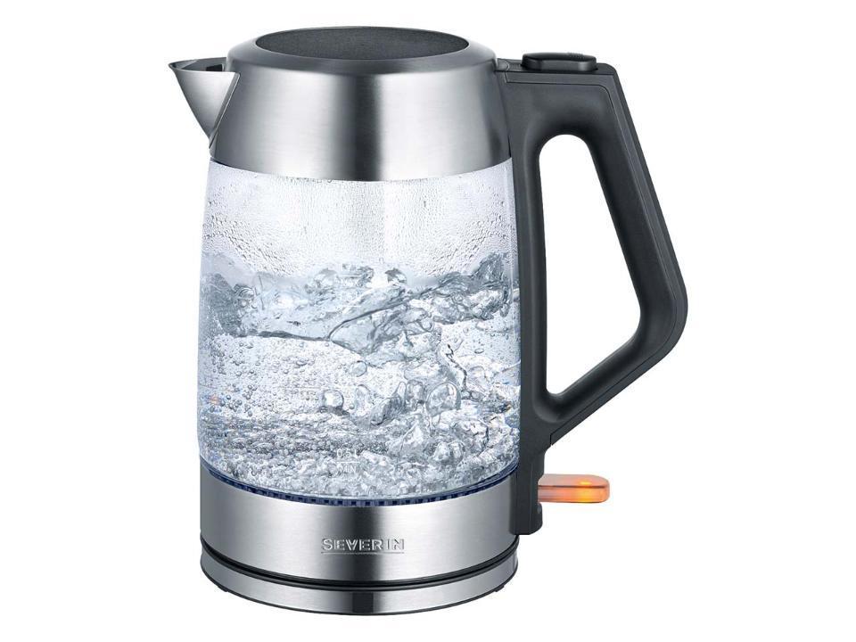 (Fast) plastikfreier Wasserkocher mit Stil.