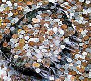 Geld Münzen Finanzen
